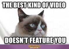 Grumpy cat posted by Candice Marie