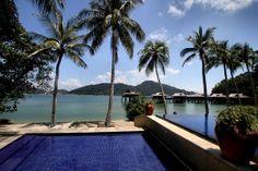 Pool und Villas des #Pangkor Laut Resorts: http://www.malaysiaurlaub.net/pangkor-pangkor-laut-die-perlen-vor-perak/ #Malaysia