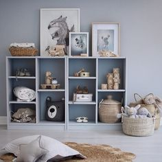 Beautifully styled room with our wooden toys by 👏 Ikea Baby Room, Baby Bedroom, Baby Boy Rooms, Kids Bedroom, Billy Ikea, Kids Room Design, Nursery Room Decor, Kid Spaces, Kids Decor