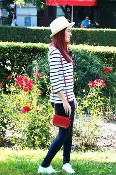 Tym razem stylizacja Pauliny z modnesisterki.blogspot.com. Połączenie niezwykle proste, ale za każdym razem równie efektowne! Idealne na ostatnie letnie dni. Również jesienią zestaw ten świetnie się sprawdzi, jeśli dobierzemy do niego skórzaną ramoneskę!