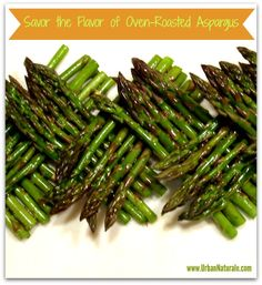 I have always loved asparagus, but I never really appreciated their flavor potential until a dear friend of mine served oven-roasted asparagus at a recent dinner party. It was love at first bite. And for good reason… Oven roasting vegetables is one of the best ways to bring out their natural flavors