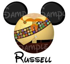Russell from UP inspired DIGITAL printable file DIY on Etsy, $3.00