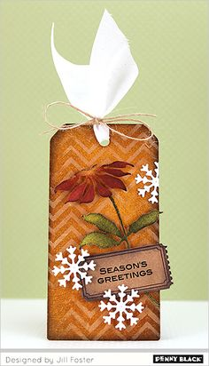 Create this inky tag with Jill...visit our blog for a tutorial video (PB&J)
