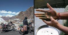 One of my most favourite road track on bike...from dehli...manali...leh...ladak..