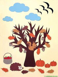 fall art projects for kids mevsim_almalar_aalar Autumn Crafts, Fall Crafts For Kids, Autumn Art, Autumn Trees, Fall Classroom Decorations, Four Seasons Art, Decoration Creche, Apple Watch Wallpaper, Fall Art Projects