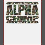If you, or someone you know is proud of their distant ancestors, or loves grappling and to train Brazilian Jiu-Jitsu, then this original ALPHA CHIMP design may just be the perfect gift!   Let it be best friends, siblings, parents or grandparents, ALPHA CHIMP design will sure be cherished for a lifetime!    ABOUT CAGECULT DESIGNS  CageCult is a Mixed Martial Arts inspired fashion and lifestyle brand!   CageCult's funny, twisted, unique and motivational designs, like this ALPHA CHIMP concep...