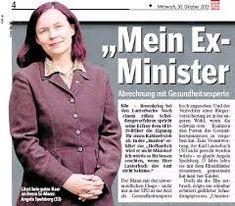 Karl Lauterbachs Ex-Frau Dr. Angela Spelsberg teilt der Presse mit, dass sie ihn charakterlich nicht geeignet hält für ein Ministeramt. Grund: sein Verhalten im Umgangsrechtsverfahren.