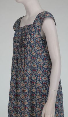 Cacharel Liberty of London floral dress 1970s