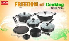 Celebrate #IndependenceDay with #ExclusiveOffers on Vinod - Intelligent Cookware only @Snapdeal & @HomeShop18!