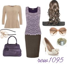 """Purple Lace"" by rew1095 ❤ liked on Polyvore"