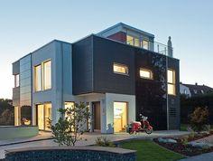 Der Kubus kommt - http://www.immobilien-journal.de/hausbau-nachrichten/hausbau-tipps/der-kubus-kommt/