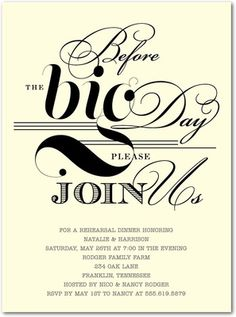 68 best rehearsal dinner invitations images on pinterest