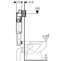 Réservoir à encastrer sigma 12 cm (up320) géb… - Achat / Vente reservoir wc Réservoir à encastrer sigm… - Cdiscount