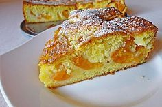 Apricot cake - with sunken apricots - Rezepte - Fall Dessert Recipes, Fall Recipes, Sweet Recipes, Summer Snacks, Summer Desserts, Apricot Cake, Cake Business, Nutella Brownies, Le Chef