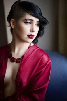Makeup by Huma  Photograph by Glenn Kelly