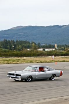 1969 Pro-Touring dodge charger auto cross grey red silver paint 69 autocross
