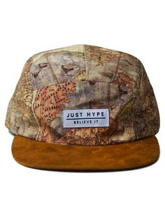 cba209c81c0f9 Hype Map 5 Panel Hat  Hype Clothing