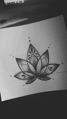 lotus flower design | Tumblr
