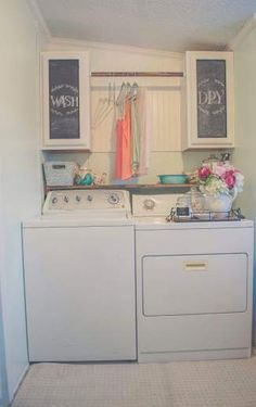 Country Cottage Manufactured Home Decorating Ideas Beautiful Manufactured Home Decorating Ideas - Laundry Room .Beautiful Manufactured Home Decorating Ideas - Laundry Room . Laundry Room Remodel, Laundry Room Organization, Laundry Room Design, Laundry In Bathroom, Budget Organization, Bathroom Small, Laundry Room Shelving, Laundry Room Small, Laundry In Kitchen