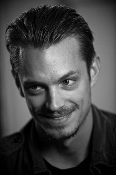 Joel Kinnaman (born Charles Joel Nordström, 1979) - Swedish actor. Photo by Lance Dawes