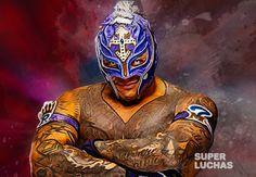 Rey Mysterio quiere el Campeonato WWE y reta a Brock Lesnar Cain Velasquez, Brock Lesnar, Rey Mysterio 619, Wwe Lucha, Wwe Entertainment, Wwe Brock, Aj Styles Wwe, Ufc, Grand Theft Auto Series