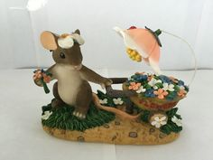 CHARMING TAILS FITZ AND FLOYD FLOWERS FOR A FRIEND SPECIAL ED FIGURINE   eBay