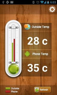 Popular Thermometer App For Android