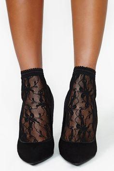 Mistress Lace Socks