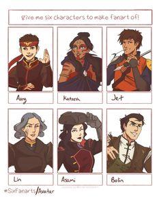 Avatar Fan Art, Team Avatar, Lin Beifong, Avatar Series, Korra Avatar, Avatar The Last Airbender Art, Korrasami, Anime Nerd, Pokemon