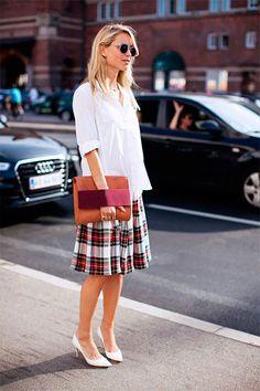 6. Acredite, os sapatos brancos são elegantes que só!