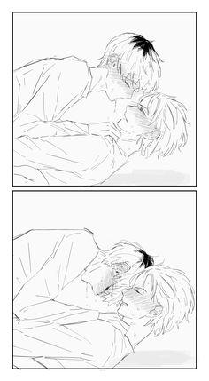 Anime Couples Drawings, Anime Couples Manga, Anime Guys, Drawing Reference Poses, Drawing Poses, Anime Oc, Manga Anime, Yaoi Hard Manga, Yoonmin Fanart