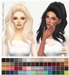 Miss Paraply: Hallowsims Anto`s Candle: solids • Sims 4 Downloads