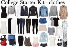 11. #College Starter Kit - Look Cute for #Class with These College #Outfit Ideas ... → #Fashion #Comfy