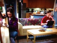 Granny Square blanket, as seen on The Big Bang Theory TV show.