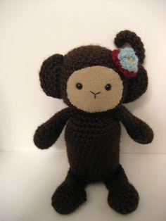 Amigurumi Pattern Crochet Monkey PDF. $3.00, via Etsy.