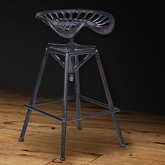 Found it at AllModern - Colomiers Adjustable Height Swivel Bar Stool