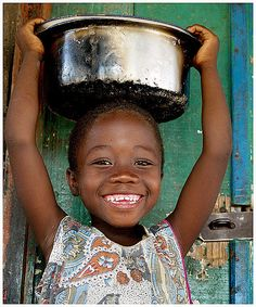 Little girl from the village of Chirombo with an irresisteble smile.