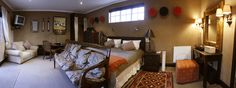 Our Out of Africa room- perfect for tourists who want some African flare!