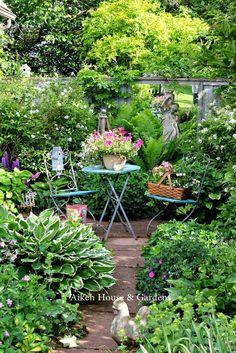Beautiful garden spot . . .