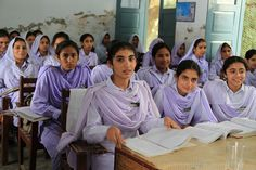 Girls in school in Khyber Pakhtunkhwa, Pakistan by DFID - UK Department for International Development, via Flickr