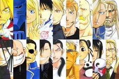 Fullmetal Alchemist manga (and the anime Fullmetal Alchemist: Brotherhood).