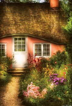 Summer - Cottage - Little Pink Play House  - Mike Savad
