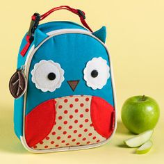Feeding Time Lunch Bag (Owl) in Kids Gear | The Land of Nod