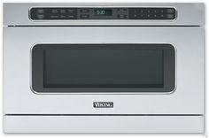 Viking VMOD241SS 1.0 cu. ft. Undercounter DrawerMicro Microwave Oven with 11 Sensor Settings, Warm/Hold Features, Digital LCD Display and Automatic Open/Close Drawer