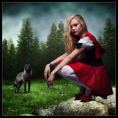 Rotkäppchen, Red Riding Hood