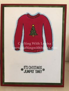 Welcome Friends Today is a card of an ugly or not ugly Christmas card. For this card, I dusted off my Spectrum Noir Alcohol markers which in my opinion are very good marker and great for those want…