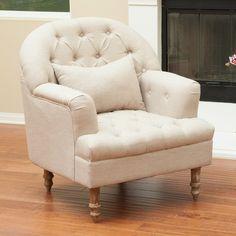 Home Loft Concept Loria Tufted Arm Chair