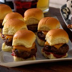 Lean ground sirloin contains at least 10 percent less fat per serving than regular ground beef, for a healthier, more delicious slider! | Health.com