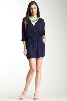 Modal Jersey V-Neck Pocket Dress
