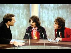 Both John Lennon and George Harrison appear on the David Frost Show a topic is Transcendental Meditation and mantras. This is not in video form but audio form and stills are used. approx an hour in length.